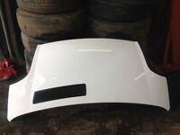 Vauxhall vivaro bonnet white