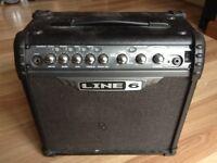 Line 6 Spider III 15-Watt Guitar Combo Amplifier