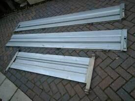 Aluminium dropside tipper sides
