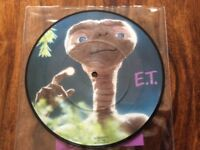 "John Williams- ET the Extraterrestrial Original Theme - Collectors Edition Picture Disc 7"" Single"