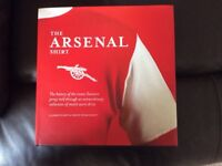 The History of the Arsenal shirt book, 100% official