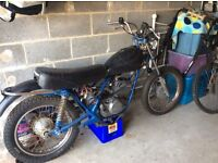 1975 Harley Davidson SS250/175 Barn find project
