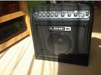Line 6 LowDown LD15 15 Watt Bass Practice Amp