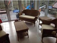 Wicker furniture set