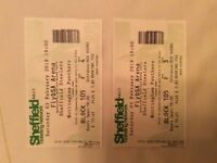 2 Steelers v Panthers tickets for sale. £10 each