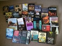 Book Bundle 29 Crime Stories, consisting of Hardback & Paper back books