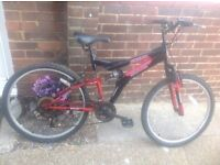 Adults Dial Suspension Mountain Bike 18 sp