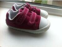 Clarks Doodles shoes for toddler girl - size 4 . £7