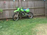 kx 100 big wheel not cr yz rm pit bike