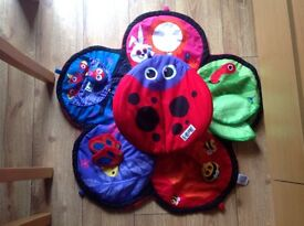 Lamaze spin and explore garden gym tummy time