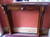 Lovely Decorative Feature Fireplace Surround / Can Deliver