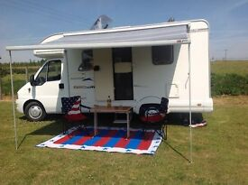 Swift Sundance motorhome. 2 Berth, fixed bed Excellent condition inside/out MOT Aug 18. Clutch 2017