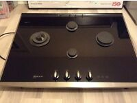 NEFF gas hob with timer + wok ring