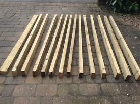 Pressure treated timber 100mm x 47mm x 2.4metre long