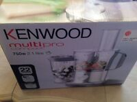 KENWOOD MULTIPRO COMPACT BRAND NEW BOXED 2.1 let