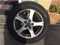 """Alloys with 16"""" winter tyres excellent condition. 215/60 R16"""