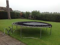Trampoline 3m x 3m for sale. For only £8!!!!