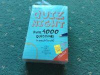 Quiz night books new