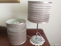 Table/ bedside lamp and light shade