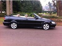 SAAB 93 9-3 SE 2.0 TURBO CONVERTIBLE, AUTOMATIC, STARTS & DRIVES, SPARES OR REPAIR, BARGAIN