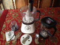 A brand new Russell Hobbs model no. 19005 food processor.