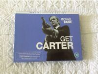 """A Brand New Special Edition Box Set in VHS of """"Get Carter"""" starring Michael Caine"""