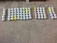75 golf balls