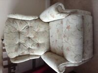A comfortable armchair for free collection I n Torquay