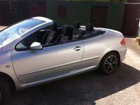 2007 peugeot 307 convertible hardtop facelift model !!!