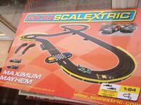 Micro Scalextric set maximum mayhem