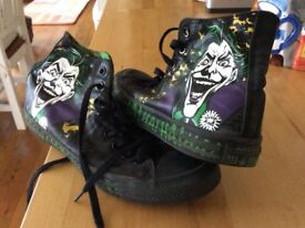 Converse trainers, size 8 collectible grunge.