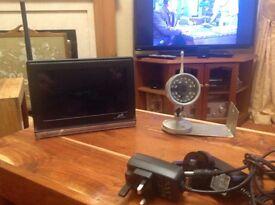 Baby /surveillance monitor. Wireless