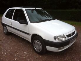 1998 CITROEN SAXO 1.1 **MOT UNTIL FEB 2018** VERY GOOD CONDITION , RUNS AND DRIVES PERFECTLY