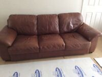 3 Seater Settee and footstool