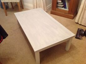 Small substantial coffee table in excellent condition.