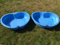 Chad Valley Blue Sand and Water Pit 111L Each Pool - FREE