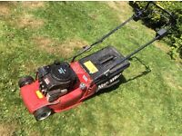 Mountfield Petrol mower great mower starts but then cuts out after a few minutes £25