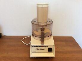Vintage Magimix 2000 food processor.