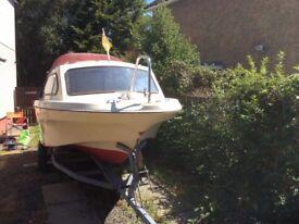 18ft Shetland Family 4 fishing boat