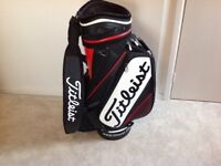 10.5 inch Titleist staff tour golf bag. Used but in good condition