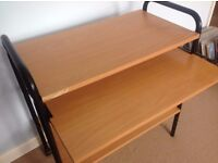 HOME Computer Desk Trolley - used