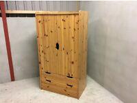 Child's pine wardrobe £30