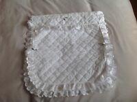Pram/Moses basket pillow and quilt set