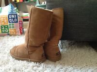 Brown UGG Boots, size W9