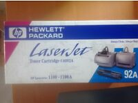 Laserjet C4092A black toner cartridge