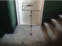Music stand portable,£20.00