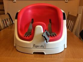 Ingenuity 2-in-1 Baby Base Booster Seat (red)