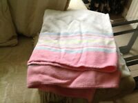 Blanket in good clean condition FREE