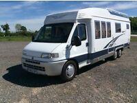 Hobby 700 Coachbuilt 4 berth LHD motorhome