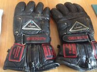 Leather Motorcycle gloves,helsapor
